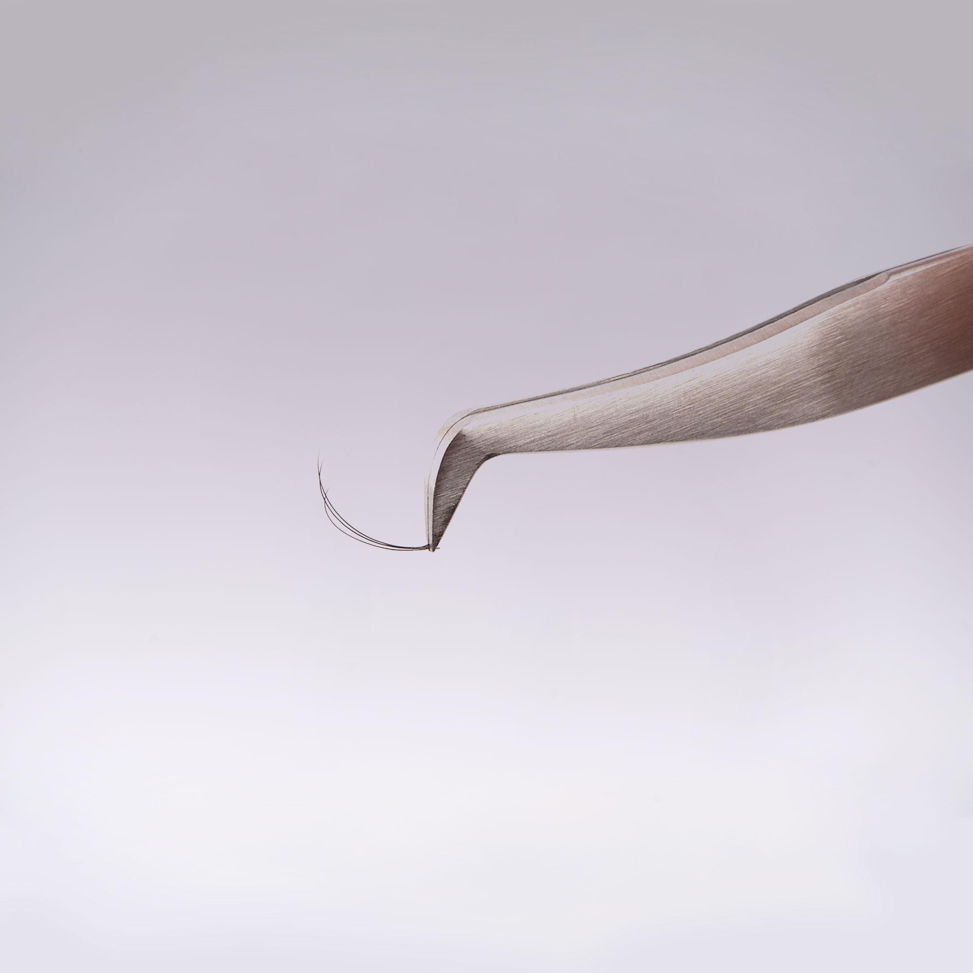 пинцет для наращивания ресниц